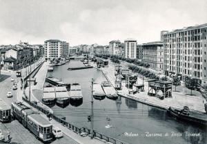 Darsena di Porta Ticinese a Milano