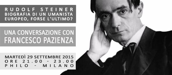 Francesco Pazienza - Conversazione su Rudolf Steiner