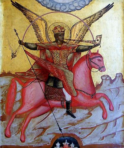 Arcangelo Michele - Icona russa