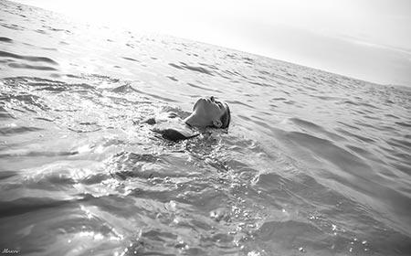 Disabile in acqua