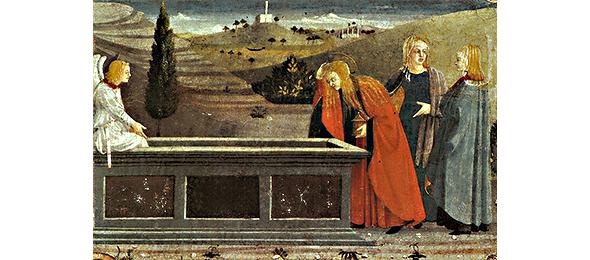 Giuliano Amidei. Pie donne al sepolcro