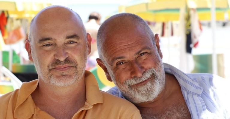 Francesco Pazienza e Moreno Montanari