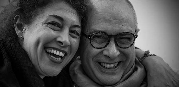 Francesco Pazienza e Simona Calabresi